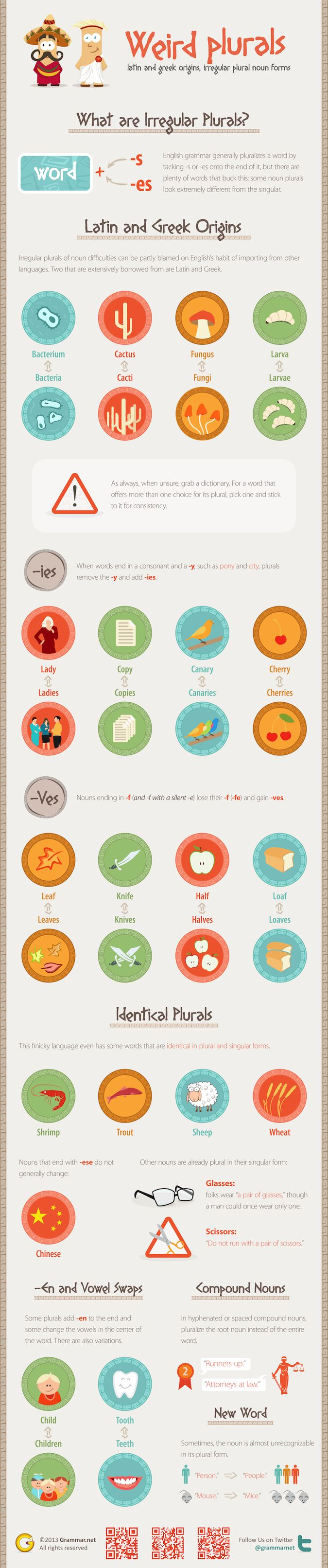 17 best images about nouns on pinterest possessive nouns for Plural of fish