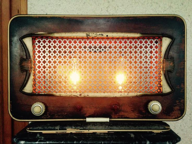 LAMPE RADIO RETRO - style vintage
