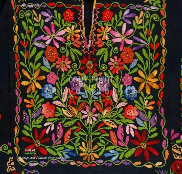 art of embroidery in palestine L a mayer institute for islamic art in jerusalem houses palestinian costumes and embroidery, dating from the 18th and 19th centuries museum  list of worldwide collections of.
