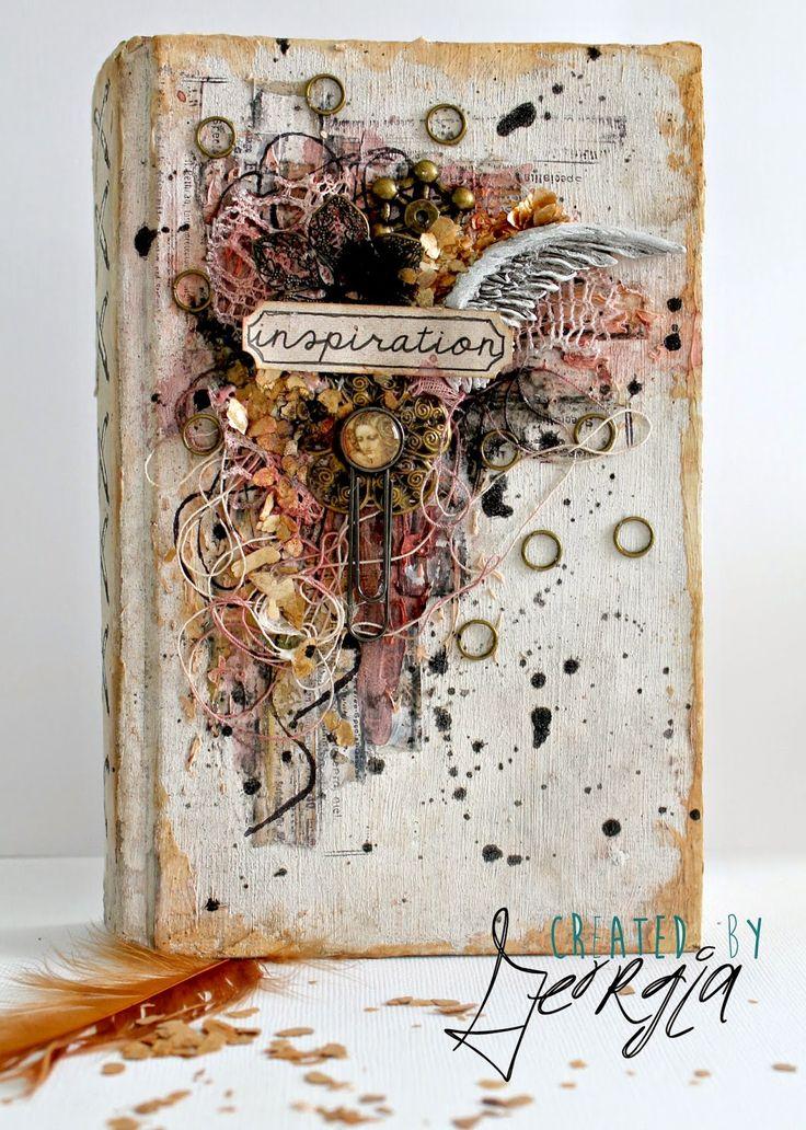 Visual Art Book Cover : Best journal covers ideas on pinterest art