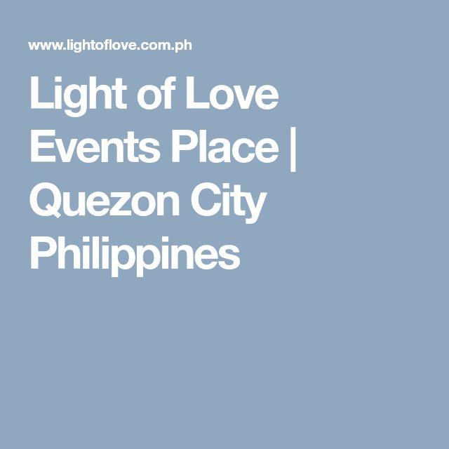 Light of Love Events Place | Quezon City Philippines