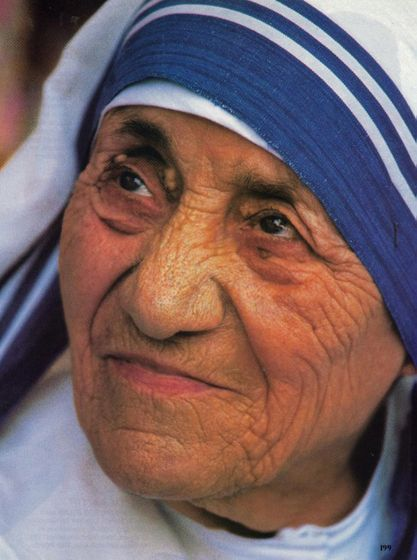 """We are all pencils in the hand of God writing love letters to the world.""  Mother Teresa of Calcutta"