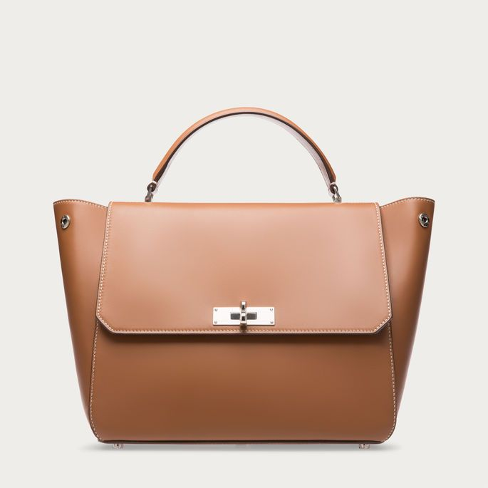 B TURN MEDIUM. Inspired by classic Merton locks, the B Turn tote is the ideal way to go from day to day in style. Shop the B Turn Medium tote from Bally US.