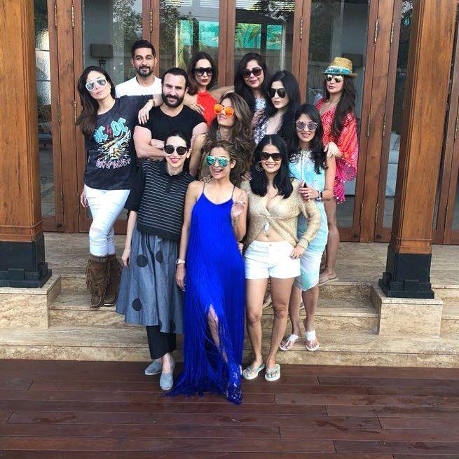 Inside Pics: Kareena Kapoor Khan, Malaika Arora, Saif Ali Khan Ringing In Amrita Arora's 40th BirthdayIn Goa - India.com