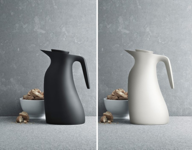 Beak Thermos Black | Designer: Maria Berntsen | ABS and Stainless  Steel | shopAGO 2012 Gift Guide