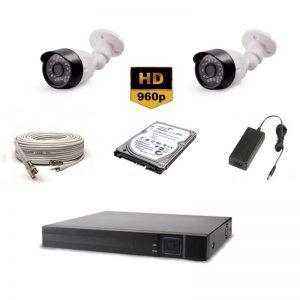 2'Li AHD HD Güvenlik Kamera Seti 495.00 TL