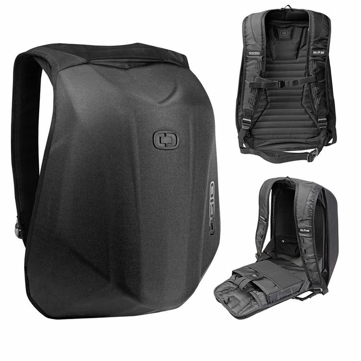 HONDA Ogio No Drag MACH 1 Motorcycle Laptop Backpack Stealth ...