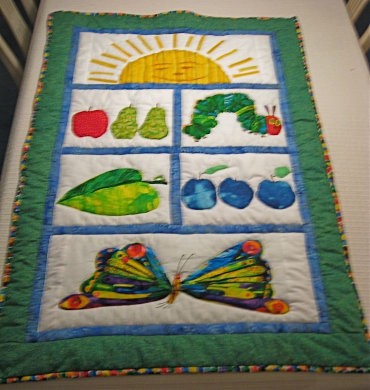58 best Quilts - Very hungry caterpillar quilts images on Pinterest Baby quilts, Children s ...
