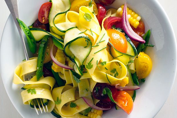 Find the recipe for Farmers' Market Pappardelle and other herb recipes at Epicurious.com