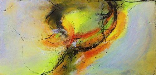 """Ursi Goetz, """"Warmherzig..."""" Mit einem Klick auf 'Als Kunstkarte versenden' versenden Sie kostenlos dieses Werk Ihren Freunden und Bekannten."""