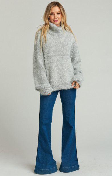 dc0f160ba39ce8 Fatima Turtleneck Sweater ~ Fuzzy Vail Knit   Show Me Your MuMu