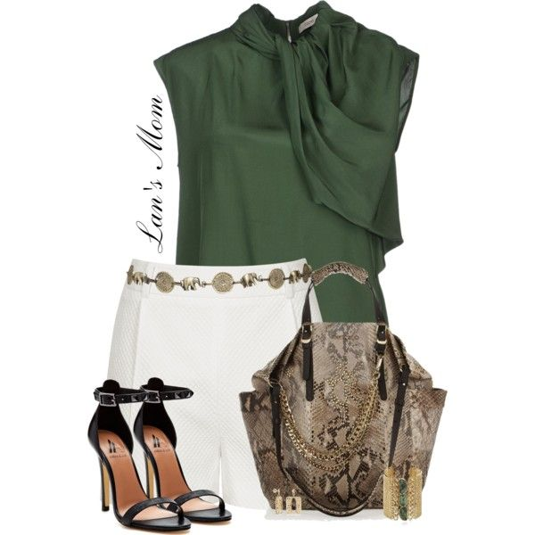 A fashion look from May 2014 featuring CÉLINE tops, Reiss shorts and Ava & Aiden sandals. Browse and shop related looks.