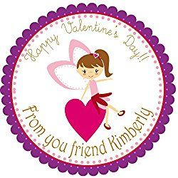 Valentines Hearts Party Labels, Favors Stickers, Valentine's Party Hang Tags, Cupcake Toppers, Party Favors