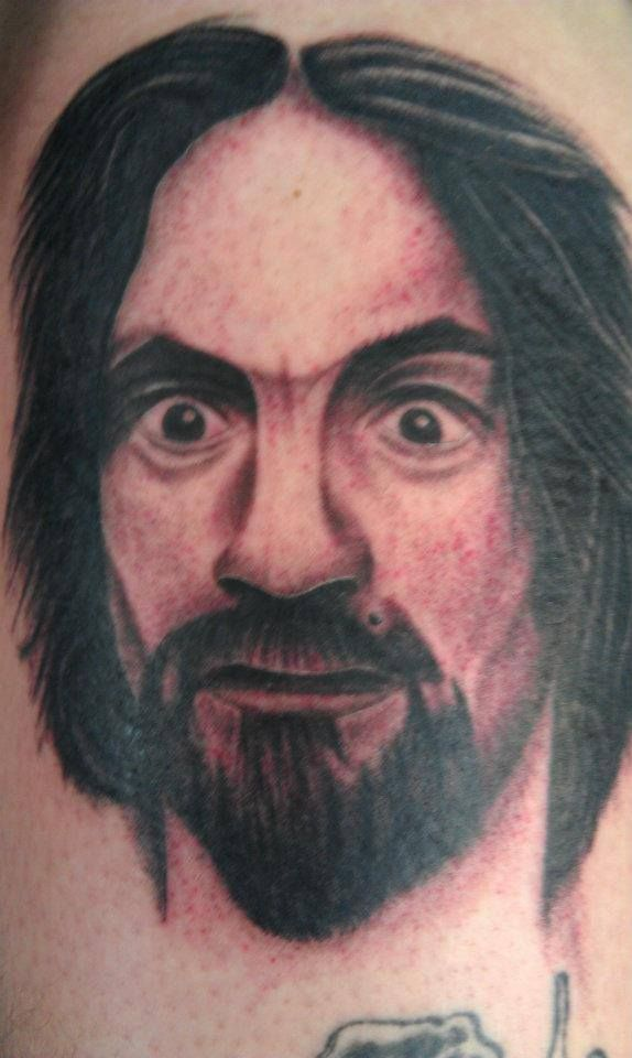 603 best images about the manson family on pinterest for Charles manson tattoos