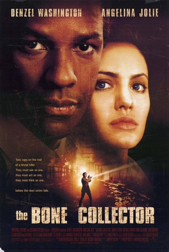 The Bone Collector (1999) - A quadriplegic ex-homicide detective and his female partner try to track down a serial killer who is terrorizing New York City.