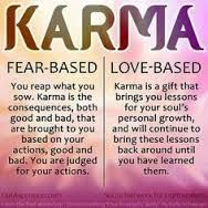 Image result for what does karma mean