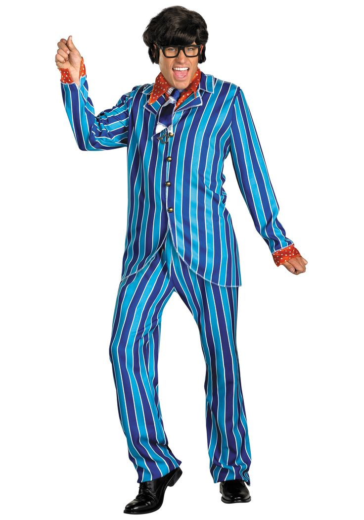 Plus Size Austin Powers Carnaby Costume - Austin Powers Costumes