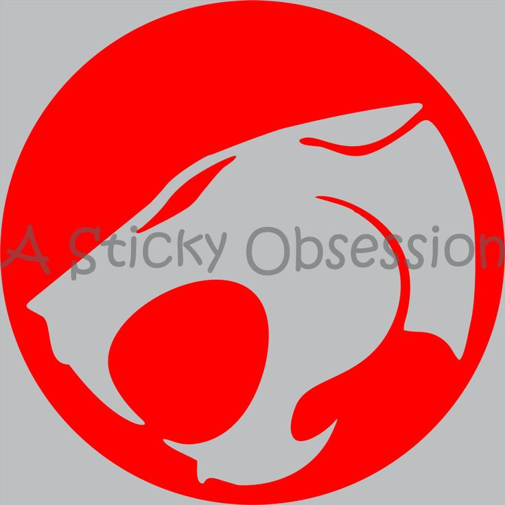 Thundercats Inspired Thundercat Custom Decal Sticker by AStickyObsession on Etsy #thundercats