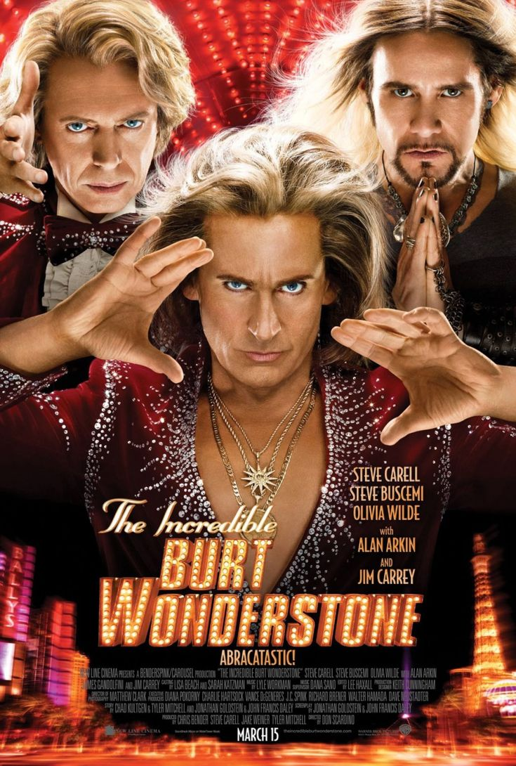 The Incredible Burt Wonderstone opens Friday, March 15th. Buy tickets at www.studiomoviegrill.com.