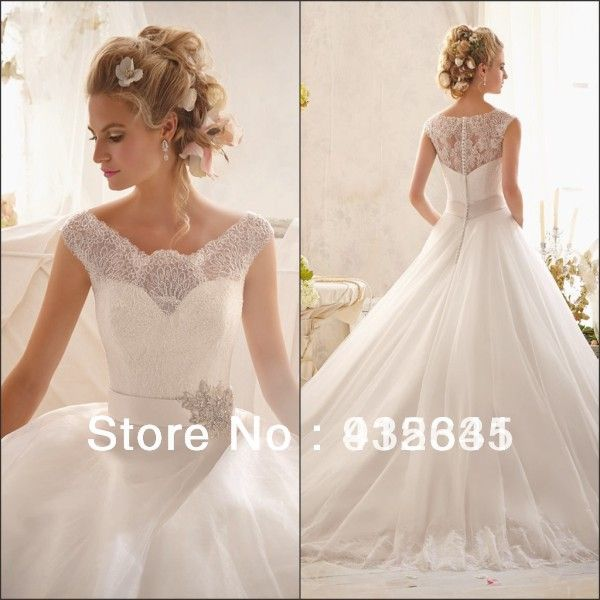 Sensual looking ball gown white silky organza crystals for Very puffy wedding dresses