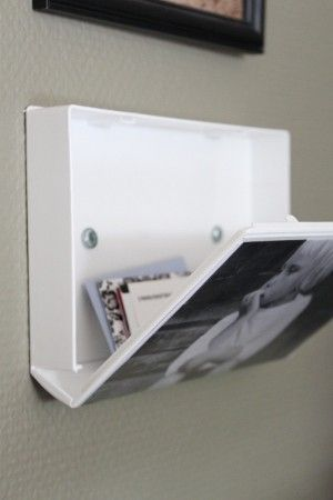 Use an old VHS cover as a picture frame with hidden storage. pinterest, you never cease to amaze me...
