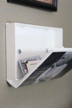Geniale Idee aus alter videobox Bilderrahmen und Kleinaufbewahrung zu machen!