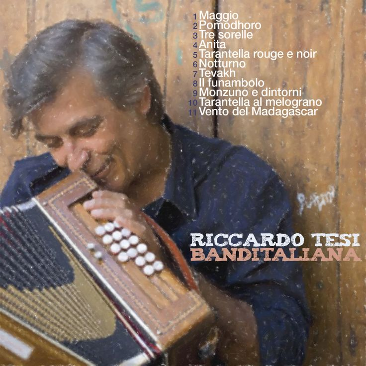 RICCARDO TESI - Banditaliana CD COVER