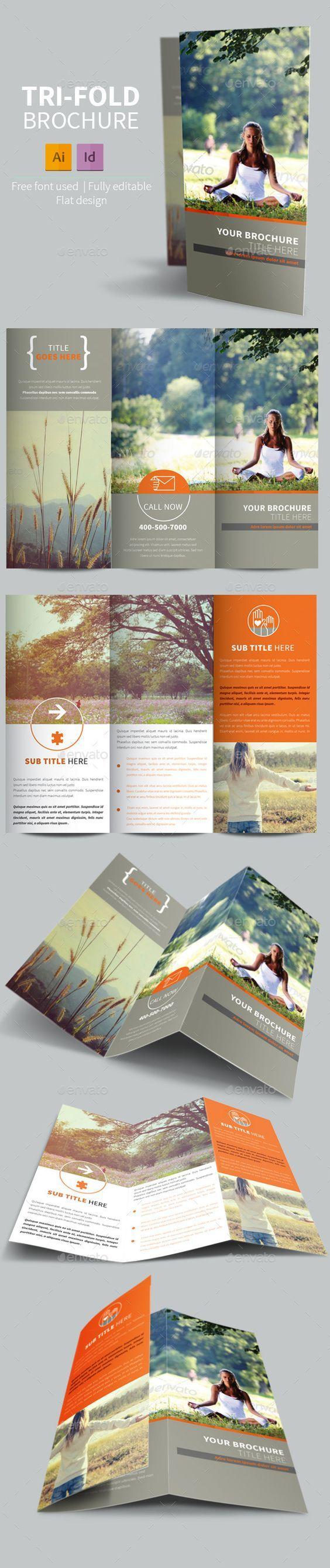 Vintage Relax Trifold Brochure #design Download: http://graphicriver.net/item/vintage-relax-trifold-brochure/11275175?ref=ksioks: