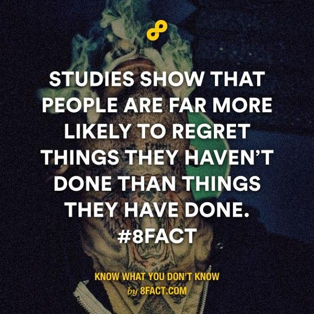 Just do it. #8fact