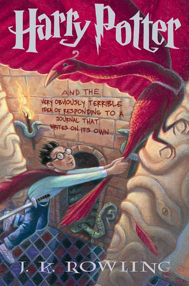 Harry Potter and the Chamber of Secrets: | This Is What The Harry Potter Books Should Have Really Been Titled