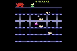 Donkey kong. Atari game system.