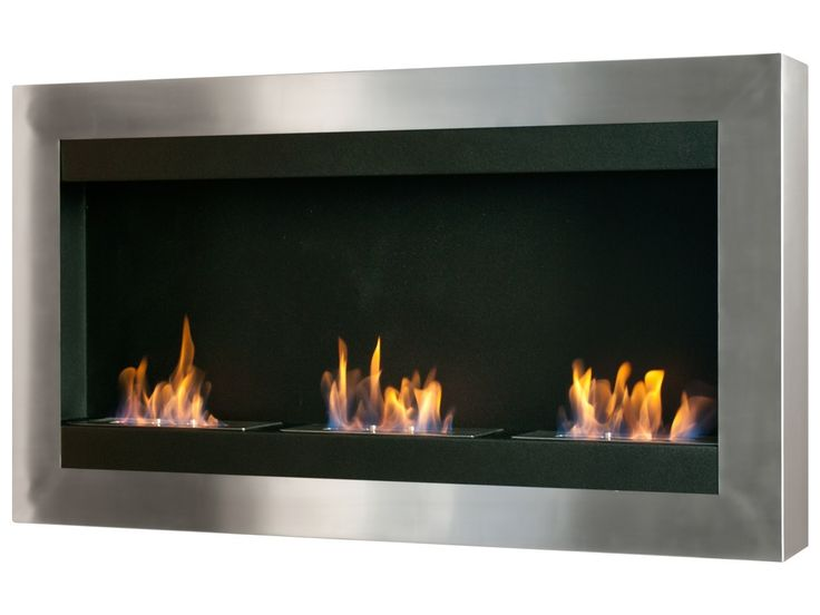 27 best fireplaces images on pinterest ethanol fireplace fireplace ideas and indoor fireplaces - Contemporary wall mount fireplace ...
