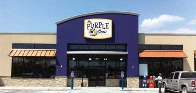 """The inspiration was a book titled """"Purple Cow"""" that addresses how to become remarkable in business and stand out from the crowd. In author Seth Godin's words, a purple cow is """"worth talking about. Worth noticing. Exceptional. New. Interesting."""""""