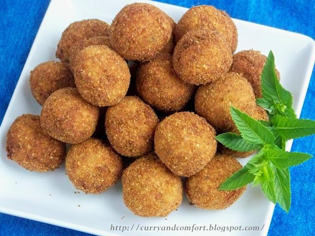 Sri Lankan Cutlets Deep Fried Tuna Amp Potato Balls
