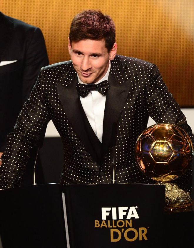 Leo Messi, Pilota d'Or 2012