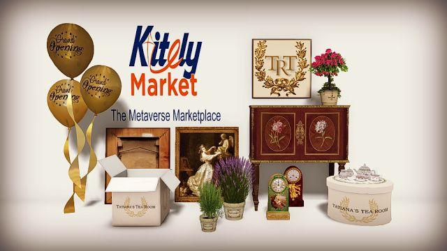 [Blog Post] Tatiana's Tea Room: Setting up Shop on the Kitely Market