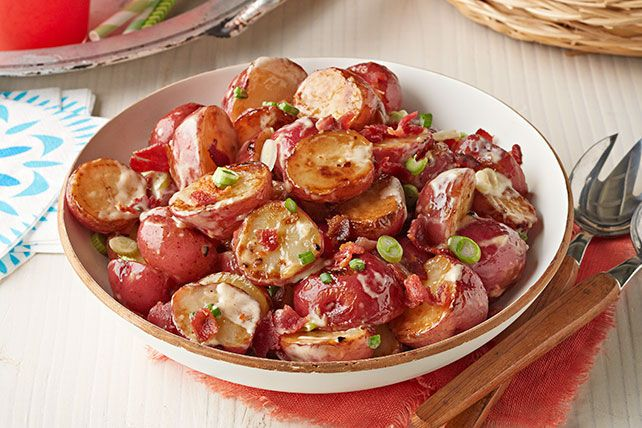 Enhance your backyard barbecue with our Spicy Grilled Potato Salad recipe. We love the spicy flavors to complement grilled meat and veggies.