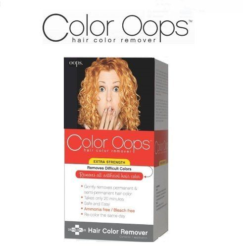 Oops Extra Strength Hair Color Remover #haircare #haircolor http://www.getyourperfume.com/skin-care/oops-extra-strength-hair-color-remover