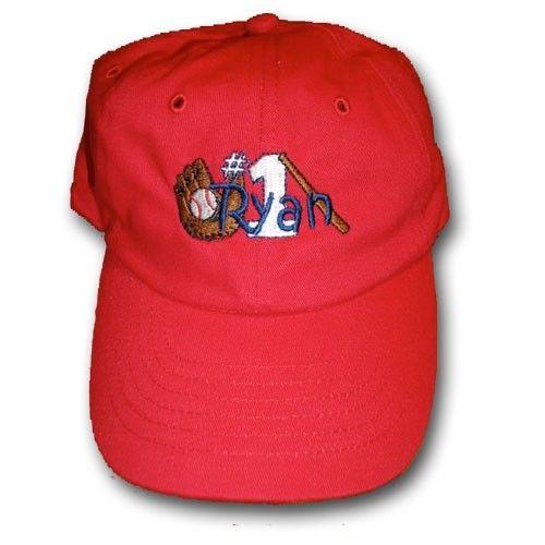 infant or toddler custom personalized baseball hat cap