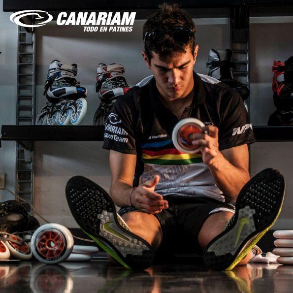 Preparacion del Campeon Mundial Andres Felipe Muñoz
