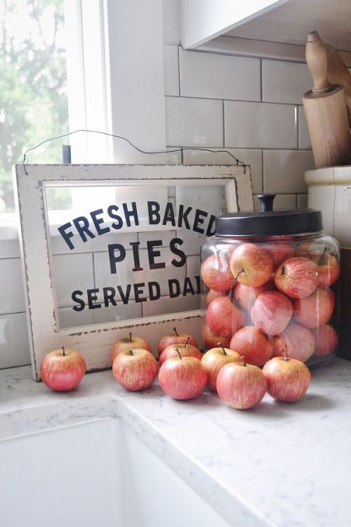 .What's on your farmhouse counter?