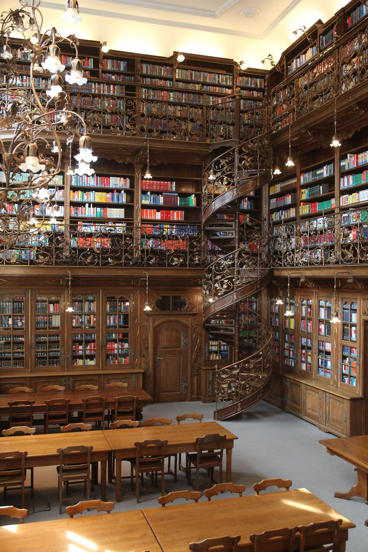 The Law Library of Munich (Juristische Bibliothek München) in Munich, Germany