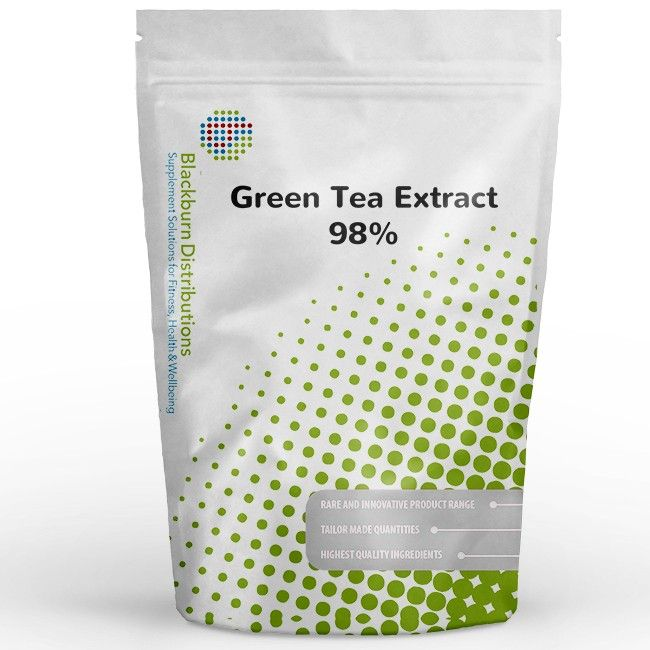 It has been used in traditional Chinese and Indian medicine for a variety of uses. http://www.blackburndistributions.com/green-tea-extract-98-percent.html