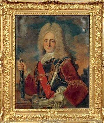 Claude François de Bidal, 1er. Marquis d'Asfeld (1664 - 1734), Maréchal de France, Chevalier de l'Ordre de la Toison d'Or.