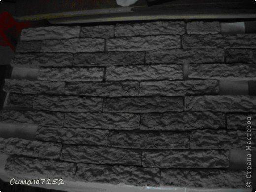 Ну вот изваяла я Мастер-класс. Надеюсь, что получилось объяснить, как я изваяла консоль под плазму, которая повлекла за собой весь декор стены.Вот почти готовая работа. На фото не доделан левый угол,темные места еще влажные..да и топа( столешницы нет) еще не сделала) Фото о том какая работа вышла здесь http://stranamasterov.ru/node/660902, взгляните. фото 6