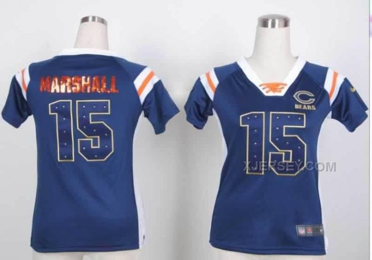 http://www.xjersey.com/nike-bears-15-marshall-blue-womens-handwork-sequin-lettering-fashion-jerseys.html Only$36.00 #NIKE BEARS 15 MARSHALL BLUE WOMEN'S HANDWORK SEQUIN LETTERING FASHION JERSEYS Free Shipping!