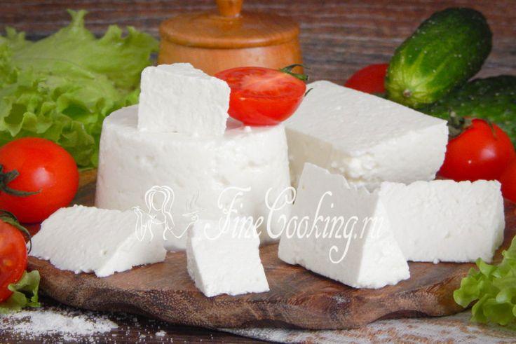 Адыгейский сыр в домашних условиях - рецепт с фото