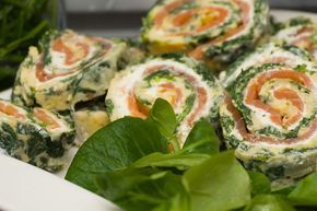 Lachs-Spinat-Rolle