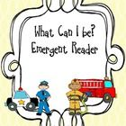 I created this emergent reader to use with my kindergarten students during community helper week.  I hope that you will find it useful in your clas...
