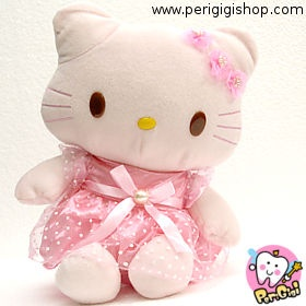 Hello kitty satin dress Rp. 90.000  Color : pink Stock : In Stock  Size : 25 cm Code : BNK A061 KTDR  Hello kitty satin dress    cantik banget pakai satin dress  boneka impor, bahan halus    Untuk pertanyaan bisa langsung menghubungi kami di:  - Customer Care ONLINE PERI GIGI (YM)  - 021.968.770.88 | 0852.1926.7171 ( SMS ONLY )  - PIN BB 27C19B7C